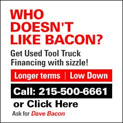 Dave Bacon finances used trucks!