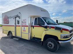 SOLD 2005 GMC C5500 18' Box 33K miles since engine replacement