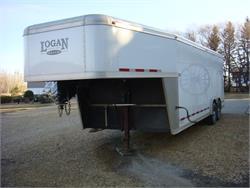 28' Logan 5th Wheel Tool Trailer