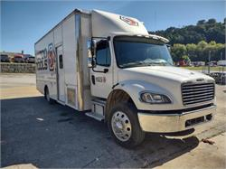 Freightliner M2 Wide Body Generator Expo Show Truck Loaded
