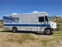 SOLD 22' Step Van with 7500 watt DIESEL GEN and THREE ACs!  Second Owner