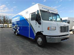 2019 Cornwell Freightliner MT55 Stepvan Diesel Generator!  Dual AC!