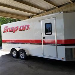Custom built ATC Quest Tool and Equipment trailer